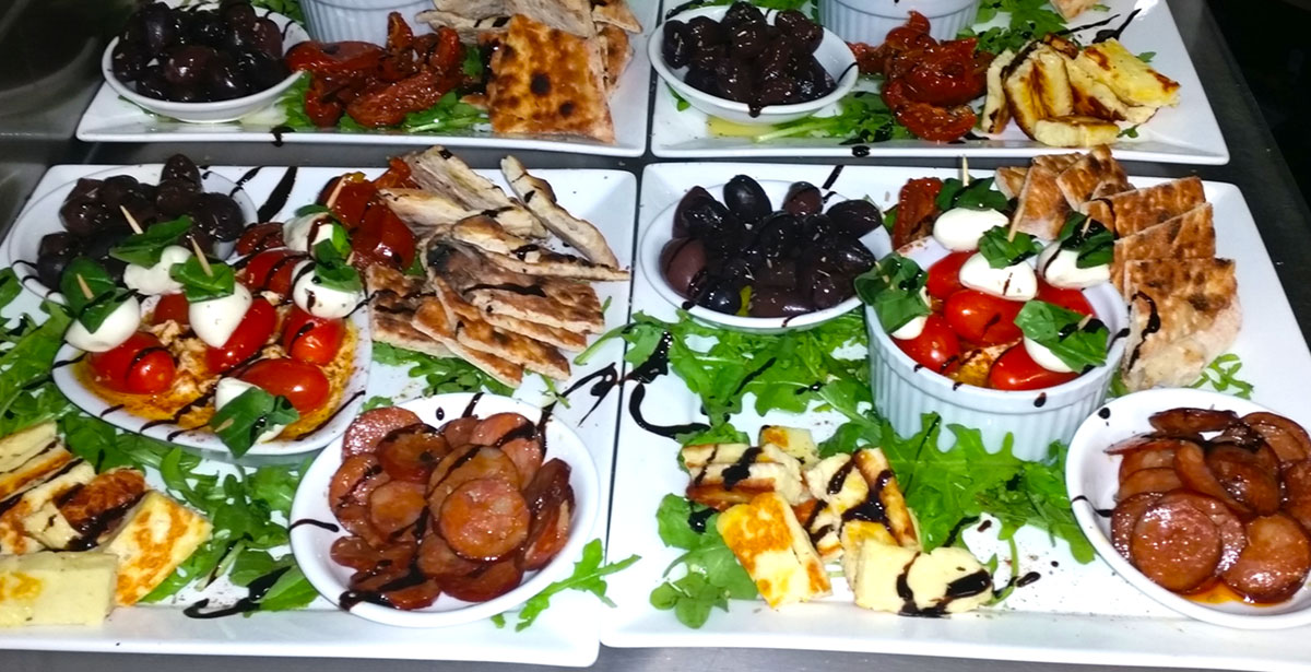 Catering for functions at Il Pirata Pizzeria